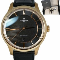 Perrelet pre-owned Automatic 42.5mm Black Sapphire crystal