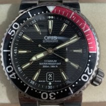 Oris Titanium Automatic Black 42mm pre-owned Divers Titan