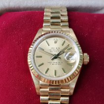 Rolex Lady-Datejust Yellow gold 26mm Yellow No numerals