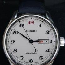 Seiko Aluminum Automatic White Arabic numerals 40mm pre-owned Presage