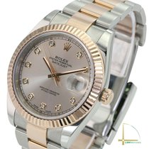 Rolex Datejust II Gold/Steel 40mm Green No numerals United States of America, California, Los Angeles