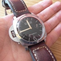 Panerai Special Editions PAM 00217 Very good Steel 47mm Manual winding