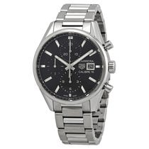 TAG Heuer Carrera Calibre 16 Steel 41mm Black No numerals United States of America, Florida, Boca Raton