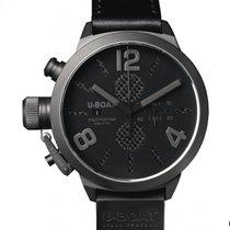U-Boat Classico Steel 53mm Black Arabic numerals