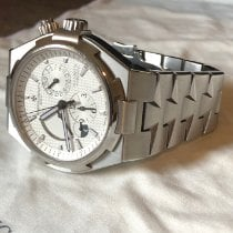 Vacheron Constantin Overseas Dual Time Steel 42mm Silver No numerals United States of America, Florida, Fort Lauderdale, Florida