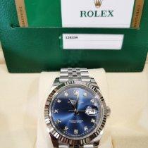 Rolex Datejust Steel 41mm Blue Malaysia