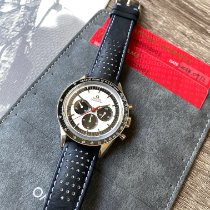 Omega Speedmaster Professional Moonwatch usados 39.7mm Negro Cronógrafo Piel