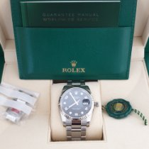 Rolex Oyster Perpetual Date Acél 34mm Fekete Arab Magyarország, Nagykanizsa