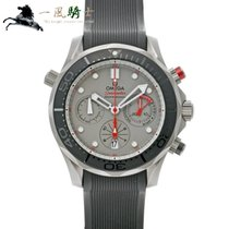 Omega Titanium Automatic Grey 44mm pre-owned Seamaster Diver 300 M