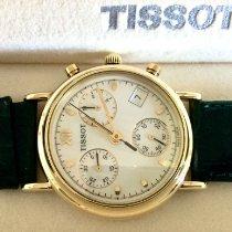 Tissot Tissot gold 14K Chronograph 34 mm quartz. NOS. 2005 neu