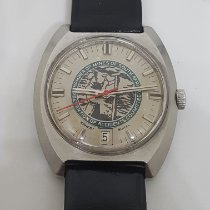 Ernest Borel Steel 36mm Automatic pre-owned