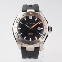 Davidoff Steel 42mm Automatic 22439 new