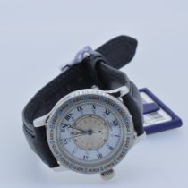 Longines Lindbergh Hour Angle Steel 33mm White Roman numerals