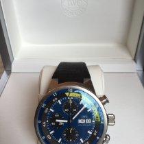 IWC Aquatimer Chronograph Acciaio 44mm Blu Senza numeri Italia, Grottaferrata