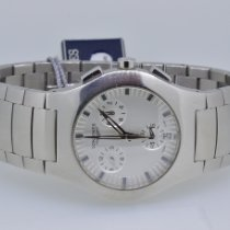 Longines Oposition new 2010 Quartz Chronograph Watch with original box and original papers L3 618 4