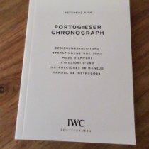 IWC Portugieser Chronograph 3714 2018 neu