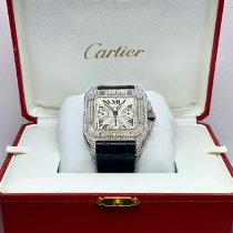 Cartier Santos 100 Steel 42mm White Roman numerals