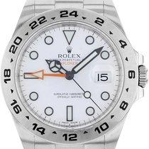 Rolex Explorer II Steel 42mm White No numerals Malaysia