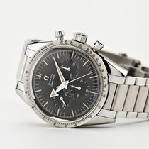 Omega Speedmaster Steel 38.6mm Black No numerals United States of America, New Jersey, Oradell