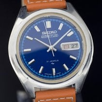 Seiko 5 Steel 37.6mm Blue No numerals