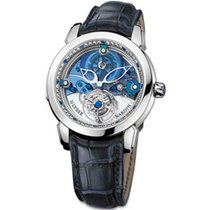 Ulysse Nardin Royal Blue Tourbillon Platinum 43mm Blue No numerals