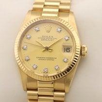 Rolex Datejust Gelbgold 31mm Gold