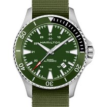 Hamilton Khaki Navy Scuba Steel 40mm Green
