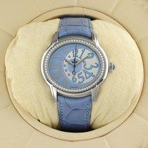 Audemars Piguet Steel Automatic Blue 39.5mm pre-owned Millenary Ladies
