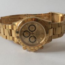 Rolex Daytona Yellow gold 40mm Gold Arabic numerals