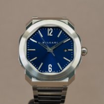 Bulgari Steel 41mm Automatic 102856 pre-owned