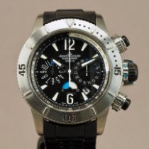 Jaeger-LeCoultre Master Compressor Diving Chronograph pre-owned 44mm Black Chronograph Date Titanium