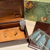 Rolex Day-Date 36 Oro bianco 36mm Blu Senza numeri Italia, Milano