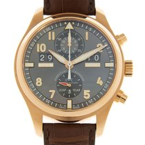 IWC Pilot Spitfire Perpetual Calendar Digital Date-Month Rose gold 46mm Grey