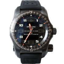 Breitling Emergency Titane 51mm Noir Arabes