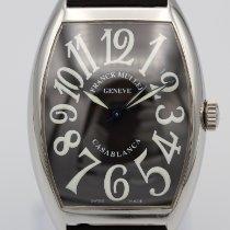 Franck Muller Casablanca Steel 34mm Black Arabic numerals