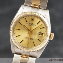 Rolex Oyster Perpetual Date Or/Acier 35mm Or