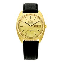 Omega Constellation Day-Date Or jaune 35mm Or Sans chiffres