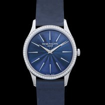 Patek Philippe Calatrava White gold 33mm Blue United States of America, California, Burlingame