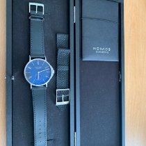 NOMOS Ahoi Atlantik Steel 42mm Blue Arabic numerals
