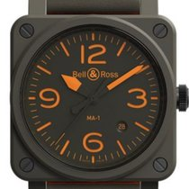Bell & Ross BR 03-92 Ceramic new 2020 Automatic Watch with original box and original papers BR0392-KAO-CE/SCA