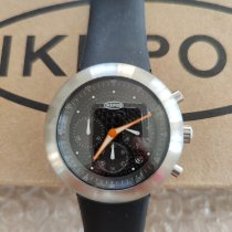 Ikepod Steel Quartz chronopod new