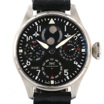 IWC Big Pilot occasion Cuir de crocodile