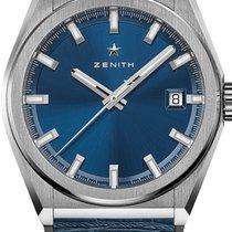 Zenith Defy Titanium 41mm Blue No numerals United States of America, Texas, Houston