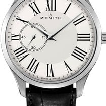 Zenith Elite Ultra Thin Steel 40mm White Roman numerals United States of America, Texas, Houston