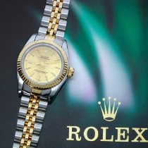 Rolex Oyster Perpetual 67193 Good Gold/Steel 26mm Automatic Canada, Montreal