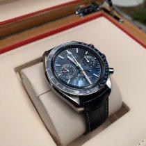 Omega Speedmaster Professional Moonwatch Moonphase Acier 44.25mm Bleu Sans chiffres