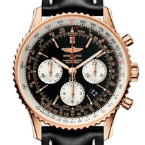 Breitling Navitimer 01 Rose gold 43mm Black No numerals United States of America, Pennsylvania, Philadelphia
