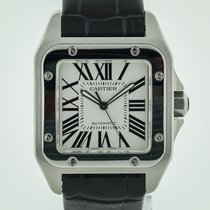 Cartier Santos 100 Steel 38.5mm Silver Roman numerals United States of America, California, Pleasant Hill