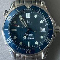 Omega Seamaster Diver 300 M Steel 36mm Blue No numerals