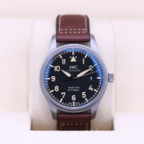 IWC Pilot Mark Titanium 40mm Black Arabic numerals